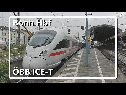 ÖBB ICE-T vertrekt van station Bonn Hbf!