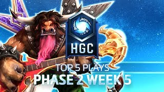HGC Top 5 Plays Phase 2 Week 5