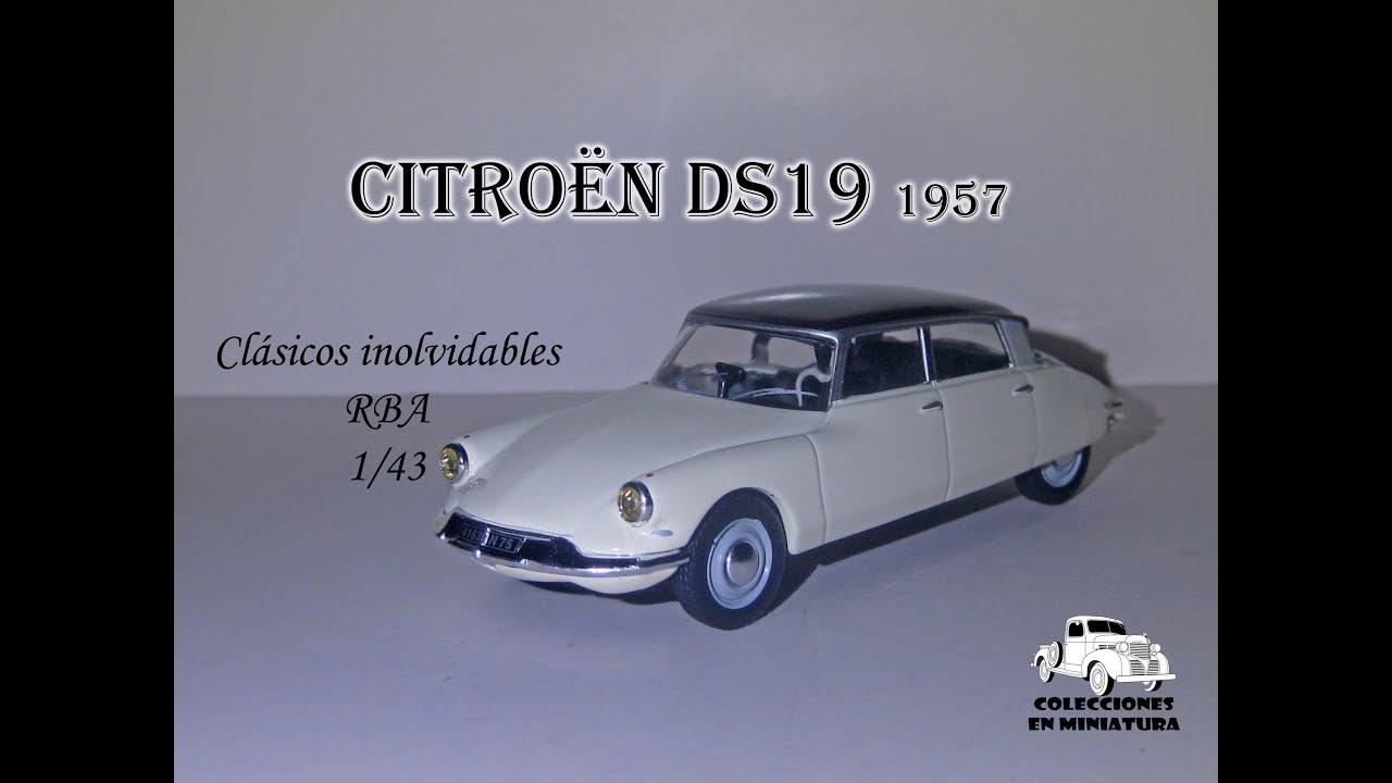 Download Citroën DS19 1957 - RBA - 1/43