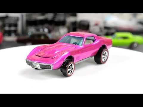 Hot Wheels Customization : Custom Corvette