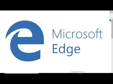 Microsoft Edge | Nikkies Tutorials
