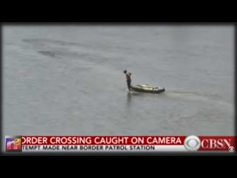 OOPS! CBS Reporter Accidentally Witnesses Illegal Border Crossing Then Immediately REGRETS it