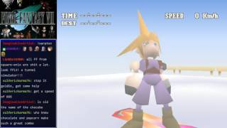 Final Fantasy VII - Snowboarding with Cid and Tifa