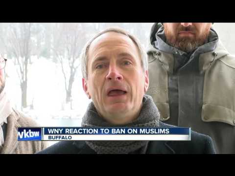 Western New York's reaction to ban on muslims