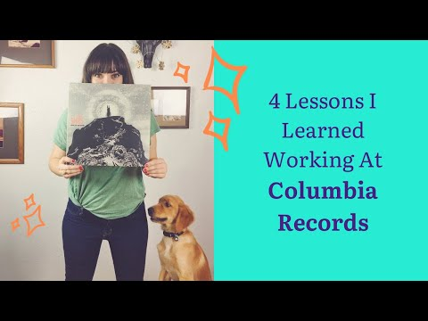 How the Music Industry Works - 4 Lessons I Learned Working at Columbia Records