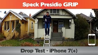 did it pass the 10 ft drop speck presidio grip drop test iphone 7 cases