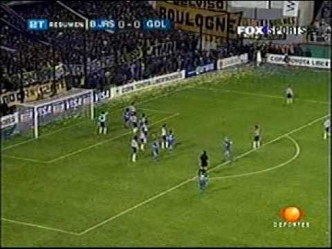 BOCA VS CHIVAS VUELTA COPA LIBERTADORES 2005, ATAJADAS DE JESUS CORONA