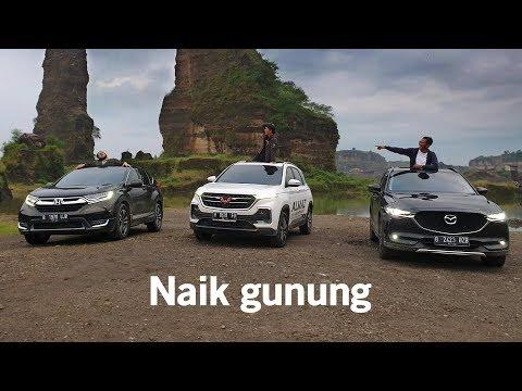 AutonetMagz Ngegas Ke Semarang Pakai Mazda CX-5 Honda CR-V Dan Wuling Almaz