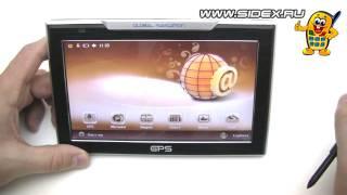 видео GPS навигаторы с сим картой, с sim, пробками