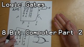 What Are Logic Gates And Transistors - Lets Build - 8 Bit Computer Part 2
