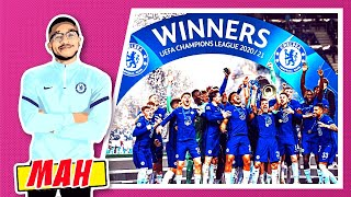 MAH X BIG STEVE! BREAKING DOWN & RELIVING EVERY MOMENT OF CHELSEA BEATING MAN CITY IN THE UCL FINAL!