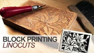 Block Printing - Linocuts