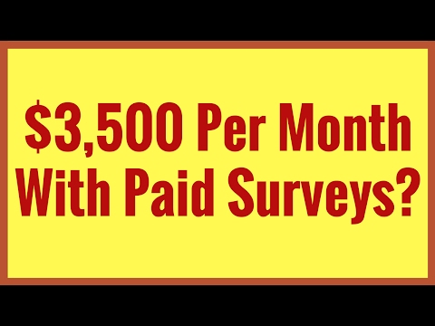 Getting Paid With Paid Surveys Has Never Been Easier