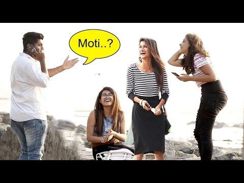 Tum Kitni MOTI Ladki Ho Prank FUNNY Reactions - Baap Of Bakchod - Raj & Sid