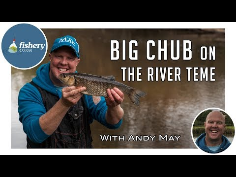 Big Chub On The River Teme With Andy May
