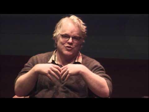 Happy Talk: Simon Critchley  Philip Seymour Hoffman