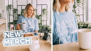 New Merch Launch + Final Home Weekly Vlog Before Bali