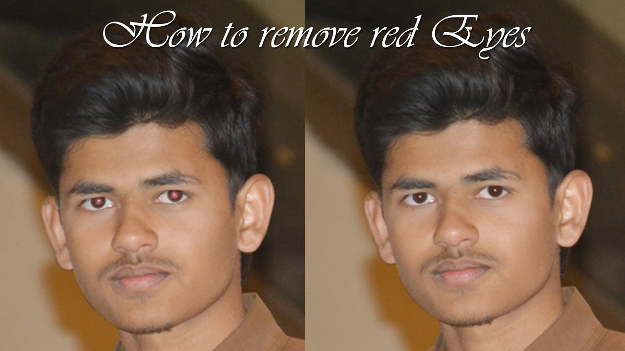 how to remove red eye in photoshop 7 0 youtube