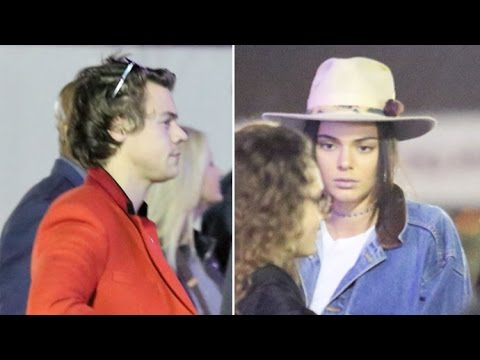 Kendall Jenner And Harry Styles Reunite At Kings Of Leon Concert