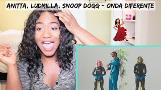 Baixar Anitta with Ludmilla and Snoop Dogg feat. Papatinho - Onda Diferente | REACTION