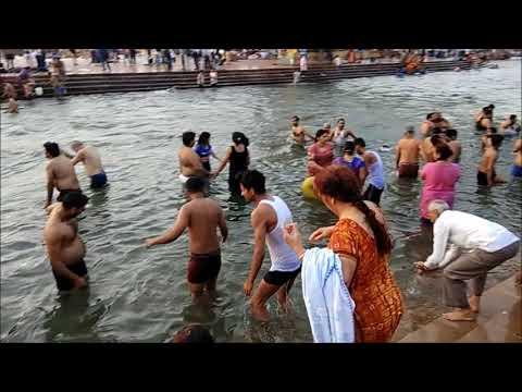 Ganga Darshan & bath at Har Ki Pauri,...