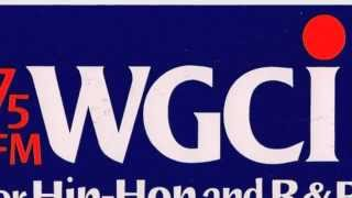 WGCI Studio 107 Chicago - 1979