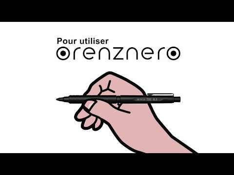 Pour Utiliser Pentel Orenz Nero Porte Mine Automatique