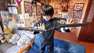 ステイホーム☆カンフー大好きりんたろう(5歳)とパパのおうち遊び♪「対決!パパ VS りんたろう」~カンフー編~