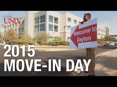 LivingUNLV Move-in Day 2015