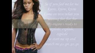 Rihanna - Shut Up And Drive (Lyric Video)