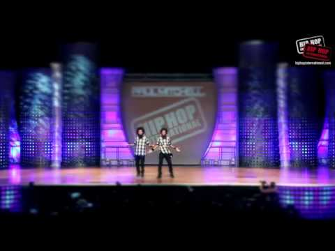 Les Twins Performance At HHI 2013 - World Hip Hop Dance Championship 2013