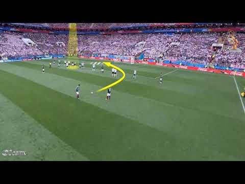 Gol de México vs Alemania Rusia 2018 Spider Cam
