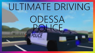 ROBLOX - Ultimate Driving Odessa Police