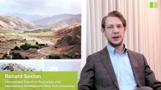 Renard Sexton on the Conflicts over Natural Resources in Afghanistan