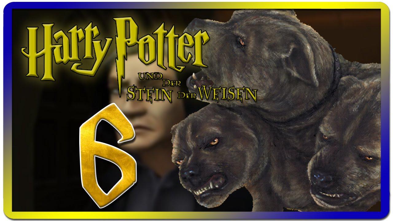 Harry Potter Und Der Stein Der Weisen Part 6 Der Dreikopfige Hund Youtube
