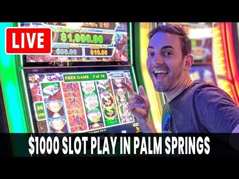 🔴 LIVE $1,000 Slot Play 🎰 Agua Caliente 🌴 BCSlots #AD