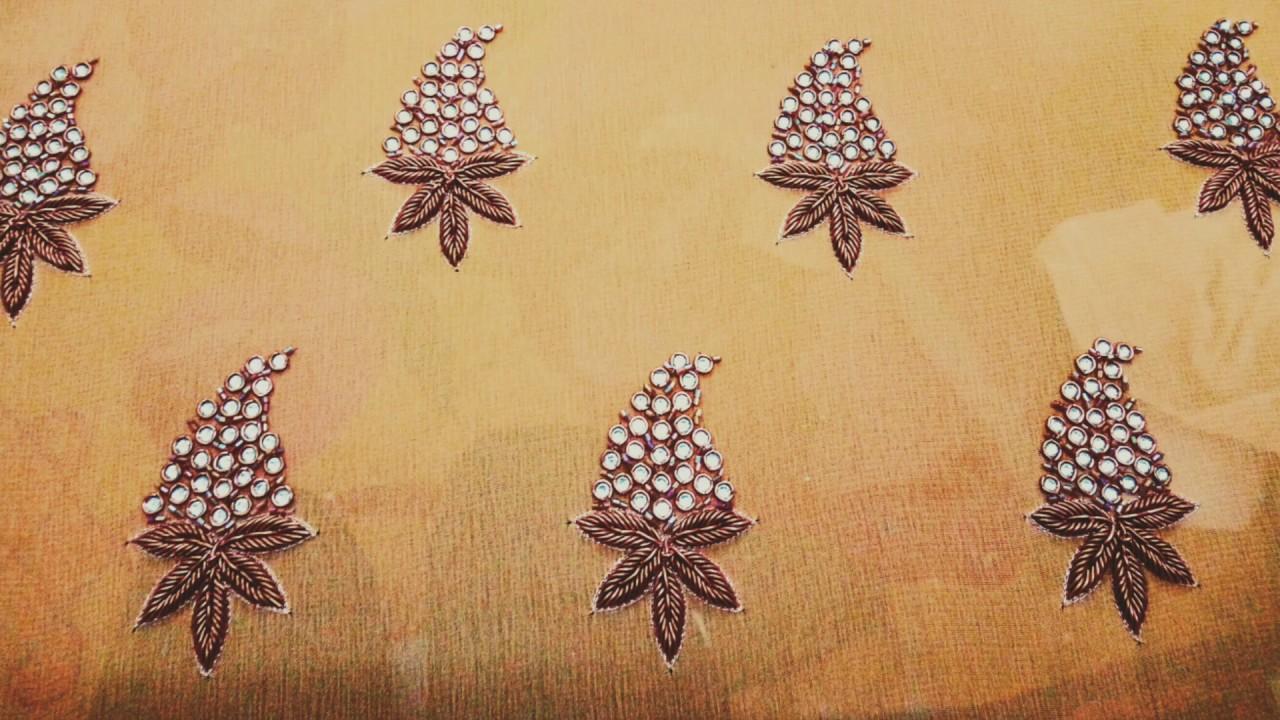 Hand Thread Work Embroidery Designs