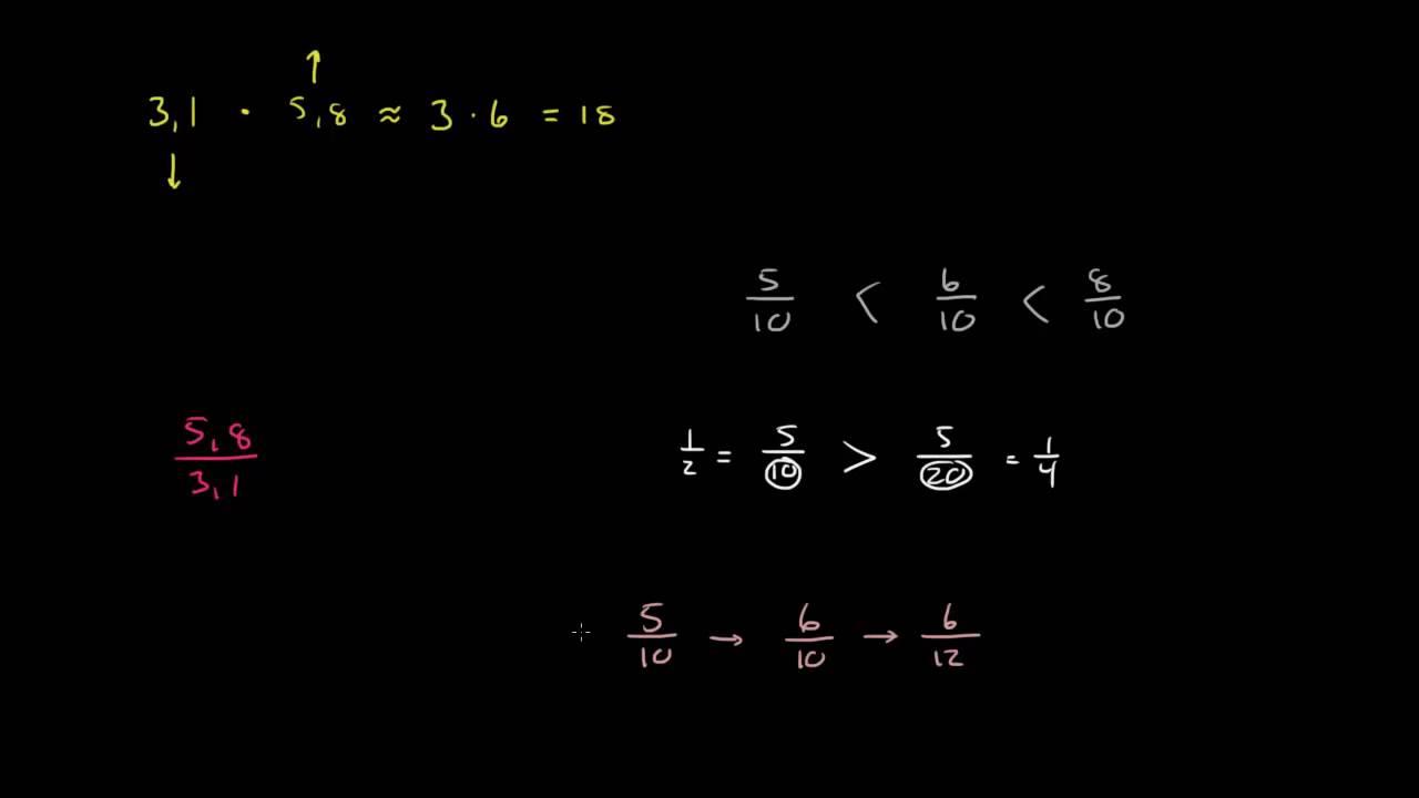 2.2 - Overslagsregning 2 - Multiplikasjon og divisjon (1P)
