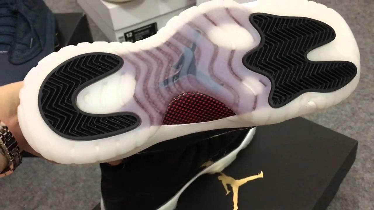 11b0e7db2a703c GS Air Jordan 11 72-10 Shoes Nice Kicks - YouTube