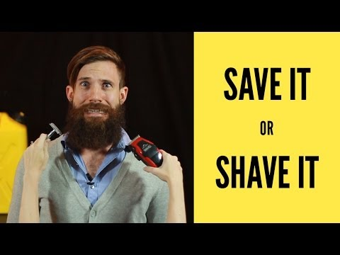 Save It or Shave It for Charity Water
