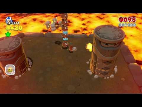 Super Mario 3D World: World 5-B - Fire Bros. Hideout #2 (Toad)