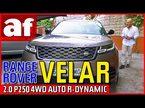 Range Rover Velar 2.0 P250 4WD Auto R Dynamic | Review
