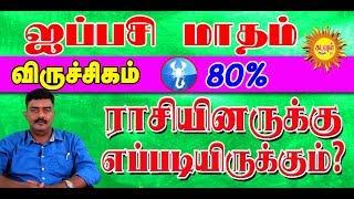விருச்சிகம் ராசியினருக்கு ஐப்பசி மாதம் எப்படியிருக்கும்VIRUCHIKAM AIPPASI Tamil Month Rasipalan