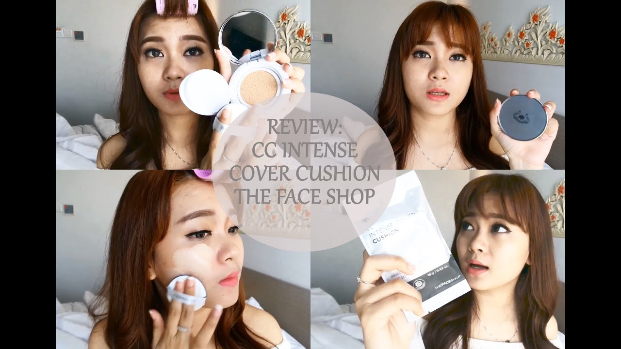 REVIEW High Coverage CC Cushion The Face Shop (Bahasa) - YouTube