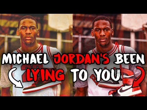 """How Nike And Mike LIED About The """"Banned"""" Jordan 1s And Made Millions"""