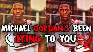 "How Nike and Mike LIED About the ""Banned"" Jordan 1s and Made Millions"