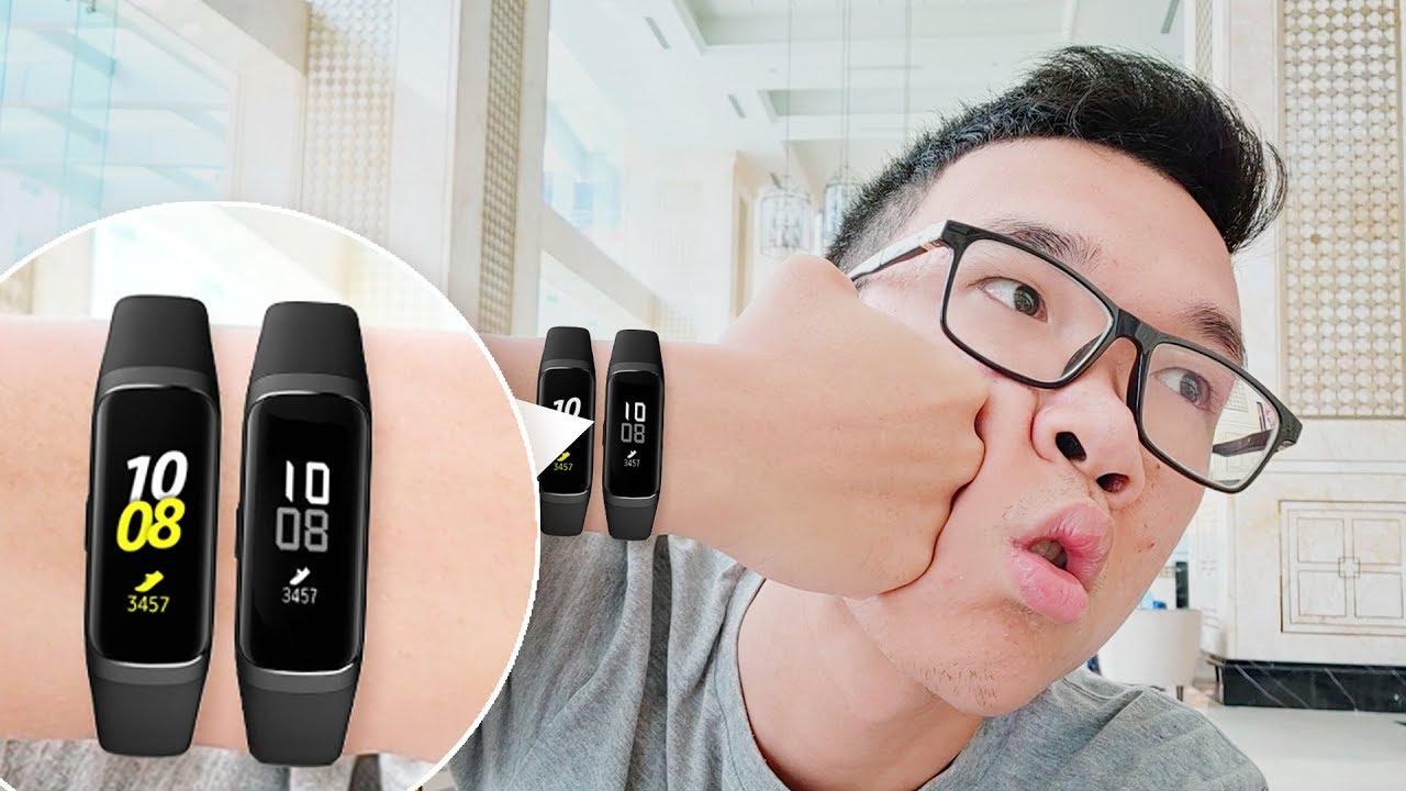 Mở hộp Samsung Galaxy Fit e và Galaxy Fit: có ăn được Miband?