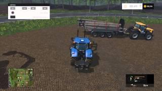 Farming Simulator 2015 Selling Timber
