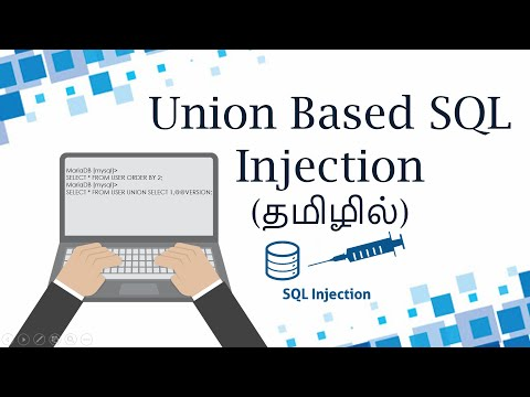 Part 15 - Web Application Security - Union Based SQL Injection (Mysql)(In Tamil)