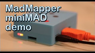 MadMapper MiniMAD Demo & Review